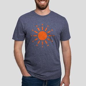Sun / Soleil / Sol / Sonne  Mens Tri-blend T-Shirt