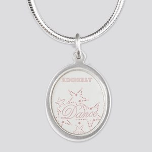 Dance Silver Oval Necklace