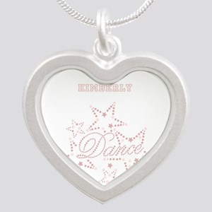 Dance Silver Heart Necklace