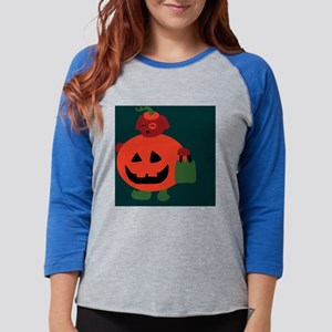 turquoiselargesquare Womens Baseball Tee