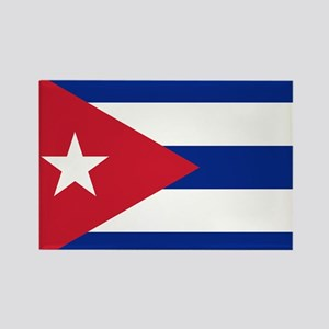 Flag of Cuba Rectangle Magnet