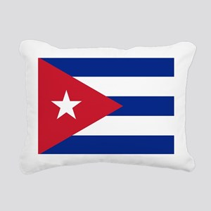 Flag of Cuba Rectangular Canvas Pillow