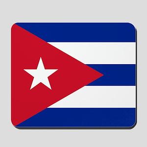 Flag of Cuba Mousepad