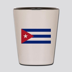 Flag of Cuba Shot Glass