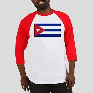 Flag of Cuba Baseball Jersey