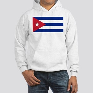 Flag of Cuba Hooded Sweatshirt