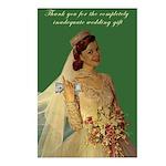 greedy bride postcards
