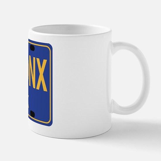 Bronx Retro Plate Mug