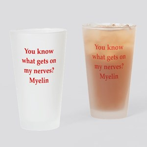 nerves Drinking Glass
