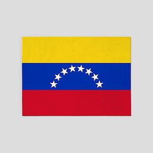 Flag of Venezuela 5'x7'Area Rug