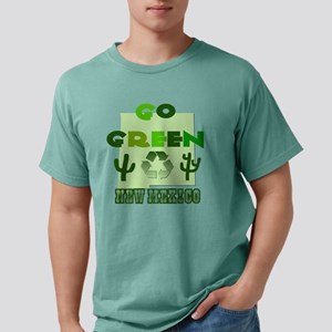 Go Green New Mexico Mens Comfort Colors Shirt