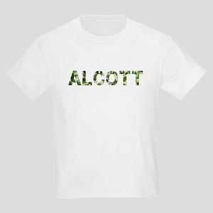 Alcott, Vintage Camo, Kids Light T-Shirt