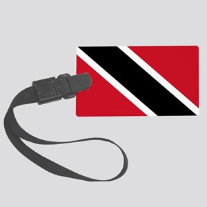 Trinidad and Tobago Flag Large Luggage Tag