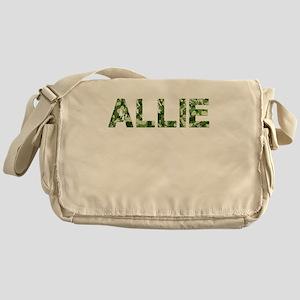 Allie, Vintage Camo, Messenger Bag
