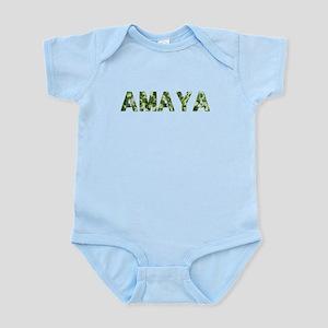 Amaya, Vintage Camo, Infant Bodysuit