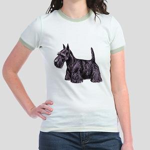Scottish Terrier Jr. Ringer T-Shirt