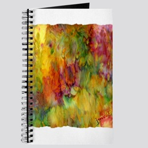 tie dye colorful lion art illustration Journal