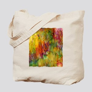 tie dye colorful lion art illustration Tote Bag