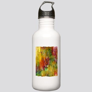 tie dye colorful lion art illustration Stainless W