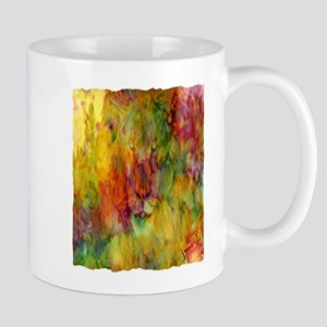 tie dye colorful lion art illustration Mug