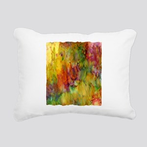 tie dye colorful lion art illustration Rectangular