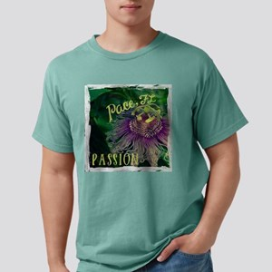 Passion Flower in Pace,  Mens Comfort Colors Shirt