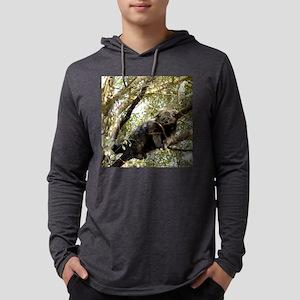 B Cat 15.35 001 Mens Hooded Shirt