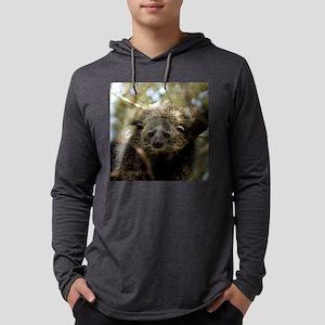 B Cat 15.35 002 Mens Hooded Shirt