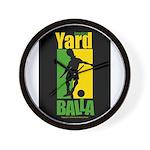 Jamaica Yard Balla Wall Clock