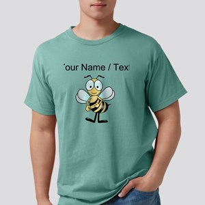 Custom Cartoon Bee Mens Comfort Colors Shirt