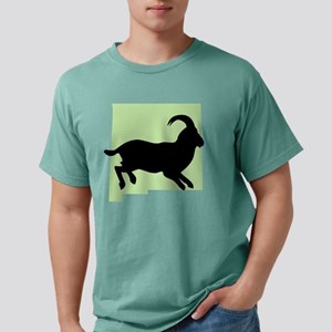 New Mexico Bighorn Sheep Mens Comfort Colors Shirt