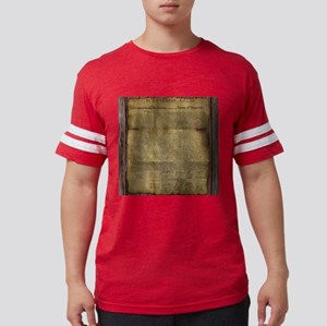 The Declaration of Independenc Mens Football Shirt