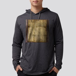 The Declaration of Independence Mens Hooded Shirt