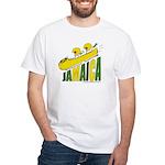 Jamaica Bobsled White T-Shirt