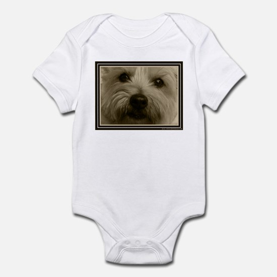 The Soul of a Terrier  Infant Bodysuit