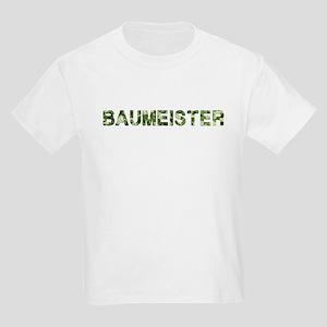 Baumeister, Vintage Camo, Kids Light T-Shirt