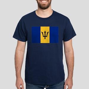Flag of Barbados Dark T-Shirt