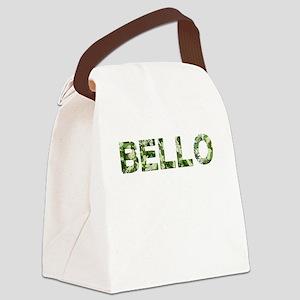 Bello, Vintage Camo, Canvas Lunch Bag