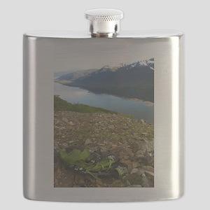Backpacking Alaska Mountains Flask