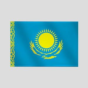 Flag of Kazakhstan Rectangle Magnet