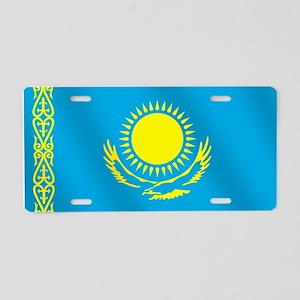Flag of Kazakhstan Aluminum License Plate