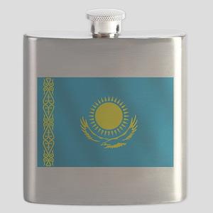 Flag of Kazakhstan Flask