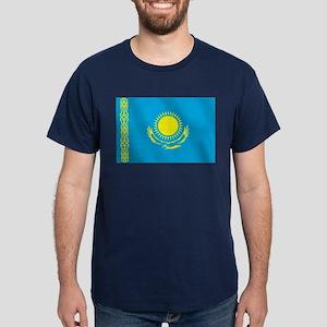 Flag of Kazakhstan Dark T-Shirt