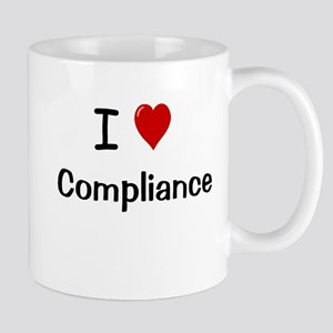 I Love Compliance Fully Compliant Mug