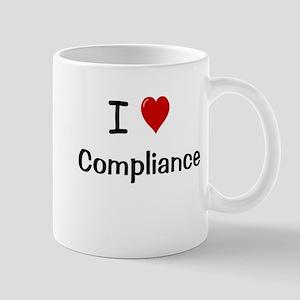 I Love Compliance Fully Compliant Mug