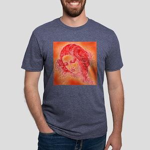 davwomanpillow Mens Tri-blend T-Shirt