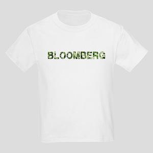 Bloomberg, Vintage Camo, Kids Light T-Shirt