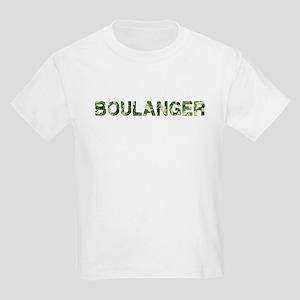 Boulanger, Vintage Camo, Kids Light T-Shirt
