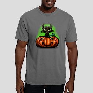 Black Cat L Tee Mens Comfort Colors Shirt