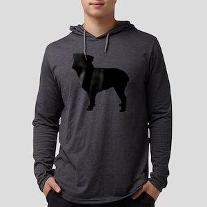 134-s Mens Hooded Shirt
